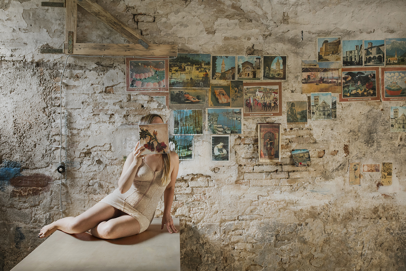 Andrea Silicatii's studio