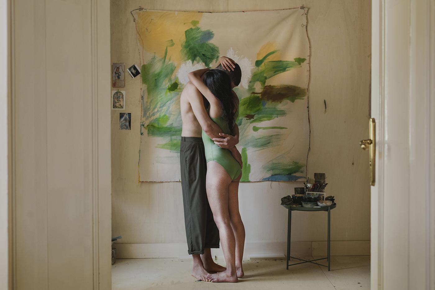 Chris Rocchegiani's studio