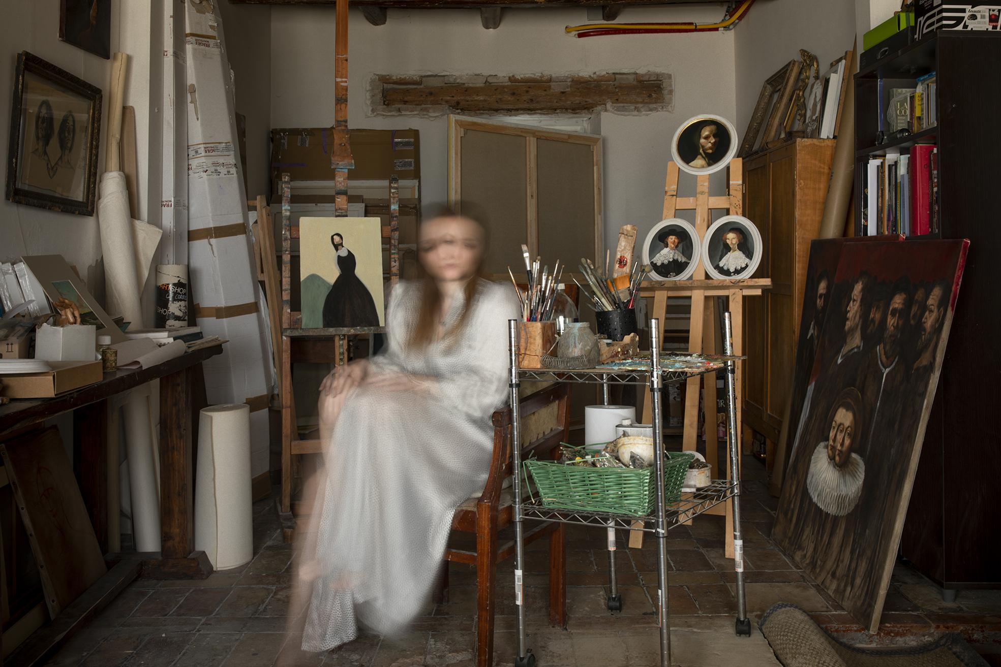 Giulia Mugianesi's studio
