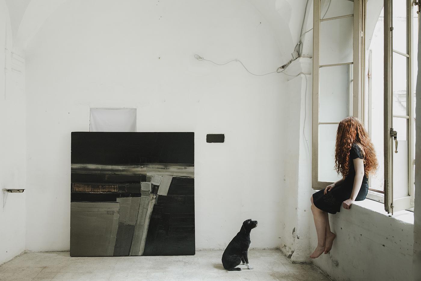 Marta Mancini's studio